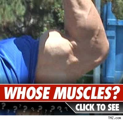 Whose bicep: Click to reveal