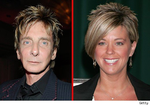 Barry Manilow and Kate Gosselin