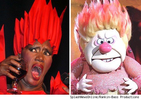 Grace Jones & Heat Miser