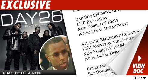 Sean Combs' Group Accused of Stealing a Diddy