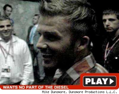 David Beckham -- play video
