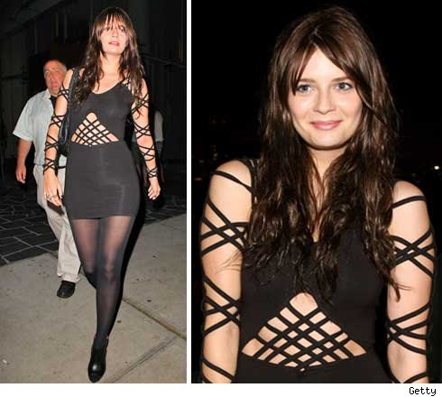 Mischa Barton -- Strapped Up