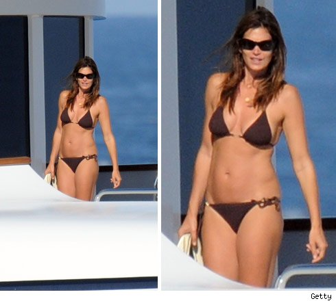 Cindy Crawford -- What a Piece of Aft!