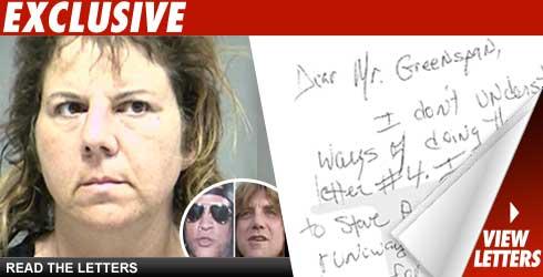 Guns 'N' Roses Stalker Letters