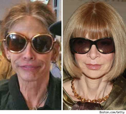 Steven Tyler and Anna Wintour