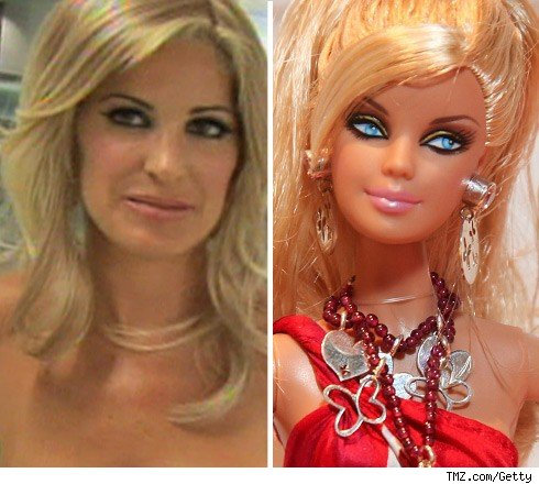 Kim Zolciak & Barbie