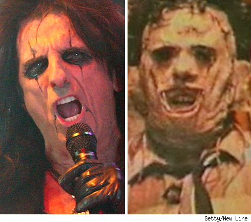 Alice Cooper & Leatherface