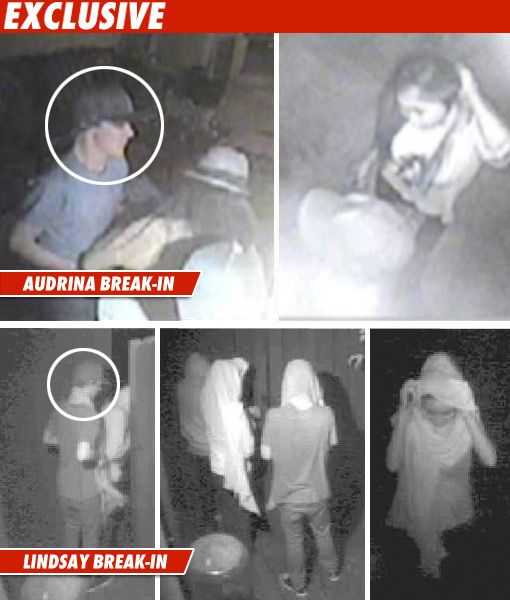 Lindsay &amp; Audrina Break-Ins