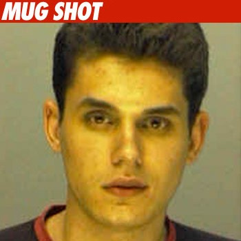 John Mayer's Mug Shot