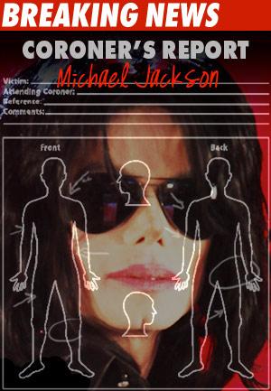 Michael Jackson Coroner Report