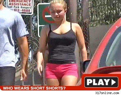 Hayden Panettiere: Click to watch