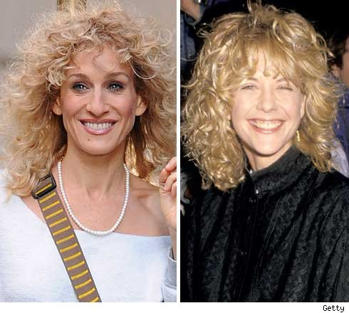 Sarah Jessica Parker and Meg Ryan