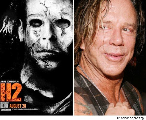 Michael Myers & Mickey Rourke