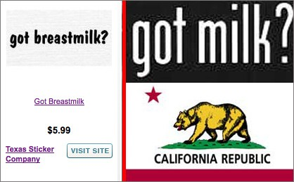 California Cries Over Spilled 'Breastmilk'