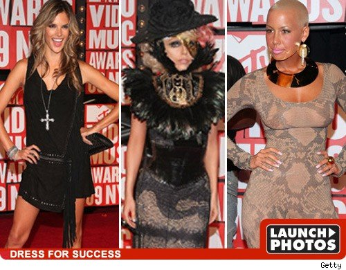 MTV VMA Fashions -- Good, Bad, and Lady Gaga
