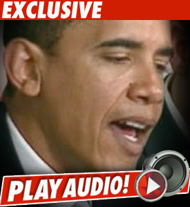 Obama Caught on Tape Calling Kanye 'Jackass'