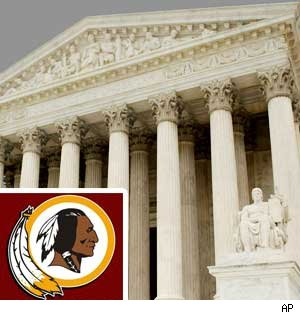 Washington Redskins -- The Supreme Challenge