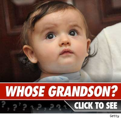 Whose grandkid: Click to reveal