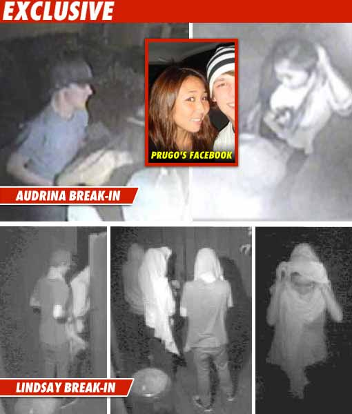 Lindsay Lohan Break-In
