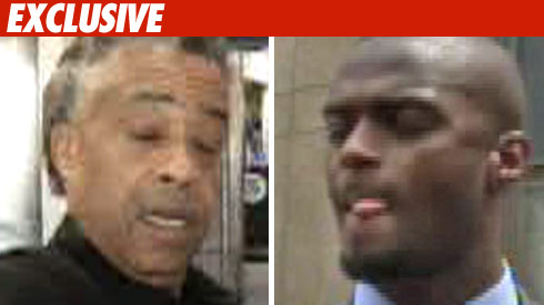 Rev. Al Sharpton -- Plaxico Burress
