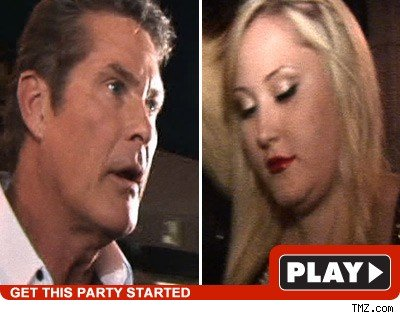 David & Hayley Hasselhoff: Click to watch