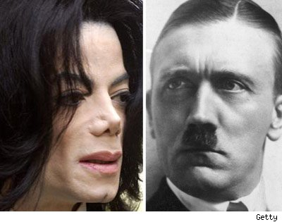 Michael Jackson and Aldof Hitler