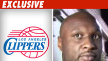 L.A. Clippers -- Our Guys Weren't at Lamar's Party