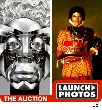 Michael jackson auction pics