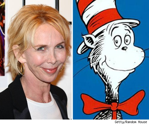 Trudie Styler and The Cat in the Hat