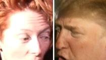 Oscar-Winner Clubs Trump Over Golf Course
