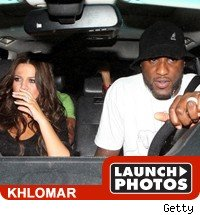 Khole Kardashian and Lamar Odom