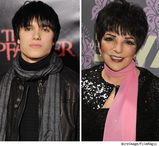 Chris Riggi and Liza Minnelli