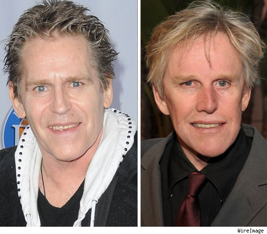 Jeff Conaway and Gary Busey