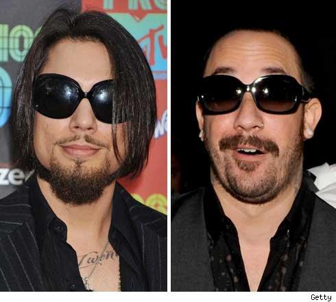 Dave Navarro and AJ McLean