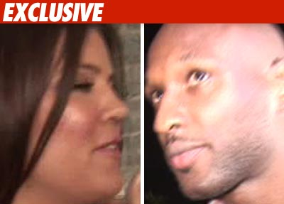 Khloe and Lamar -- Prenup Is a Done Deal!
