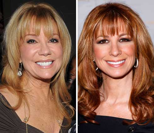 Kathie Lee Gifford and Jill Zarin