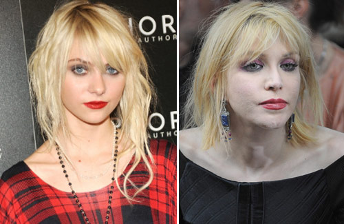 Taylor Momsen And Courtney Love