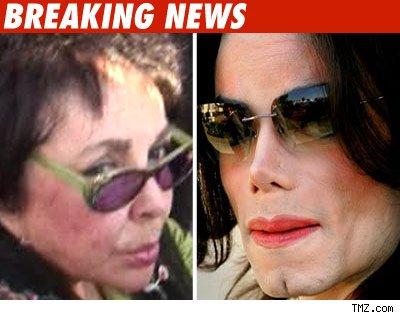Liz Taylor, Michael Jackson