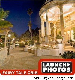 michael jackson's fairly tale crib