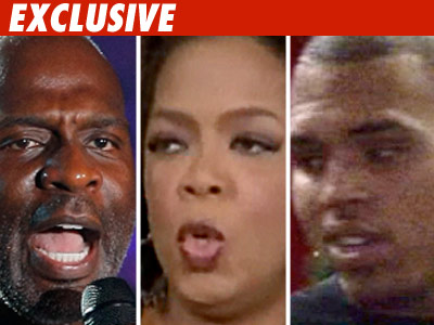 Oprah -- Double Standard on Domestic Abuse?