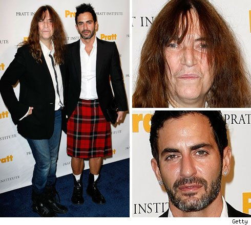 Patti Smith and Marc Jacobs