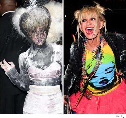 Lady Gaga and Betsey Johnson
