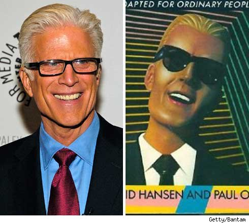 Ted Danson and Max Headroom