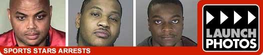 sports stars arrest