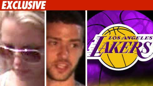 Britney, Justin, Lakers Sued