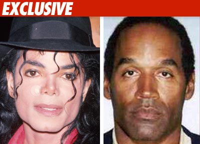 Michael Jackson OJ Simpson