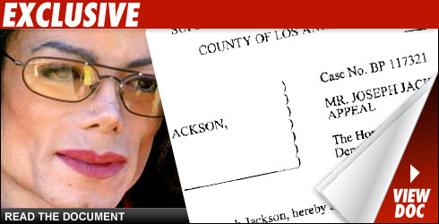 Michael Jackson court docs will