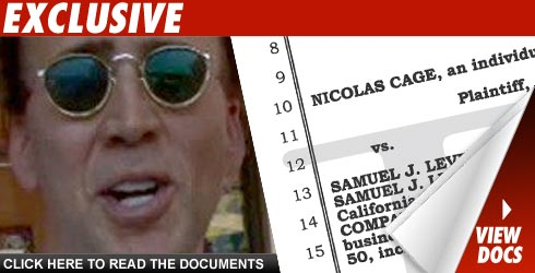 Nicolas Cage doc's