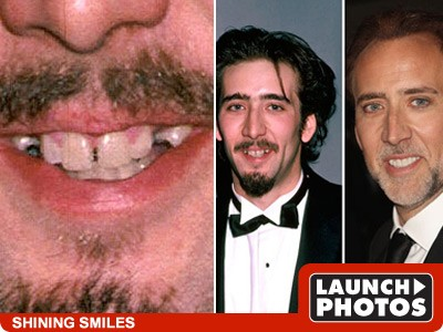 teeth go through a crazy, mysterious change after the owner becomes