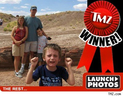 TMZ's Wacky Family Photos Contest -- WINNER!